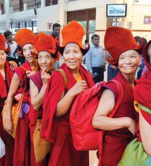 Inde - nonnes bouddhistes